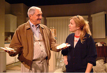 Hal Linden and Mare Winningham in Lessons (Photo © Ed Krieger)
