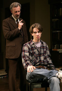 Daniel Geroll and Dan McCabe in The Dear Boy