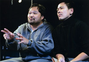 Orville Mendoza and Joel de la Fuente in Ivanov