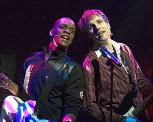 Kevin Mambo and Asa Somers in Once Around The Sun