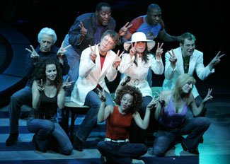 The cast of Lennon
