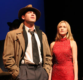 Michael Hunsaker and Alyssa Rae in Shakedown Street