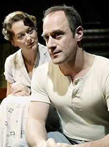 Cathy Belton and Christopher Meloniin A View from the Bridge