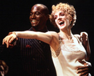 Taye Diggs and Julia Murneyin MTC's The Wild Party,which drew 13 nominations