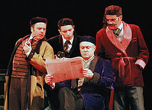 The cast of Around the World in Eighty Days