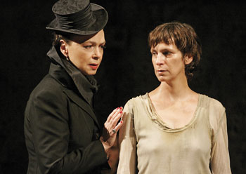 Martha Henry and Amanda Plummer in The Lark