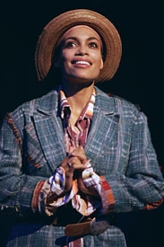 "Rosario Dawson as ""Sebastian""  in Two Gentleman of Verona