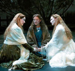 Jill Paice, Angela Christian and Maria Friedman in The Woman in White