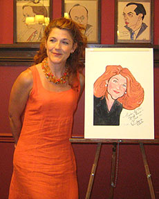 Victoria Clark at Sardi's