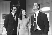 Hugh O'Gorman, Alison Eastwood, and Briant Wells in The Philadelphia Story