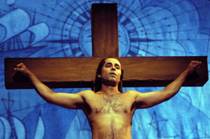 Howard Overshown in Passion Play, a cycle