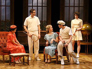 Jennifer Van Dyck, Joe Delafield, Alicia Roper, David Standish,  and Margaret Laney in The Breadwinner