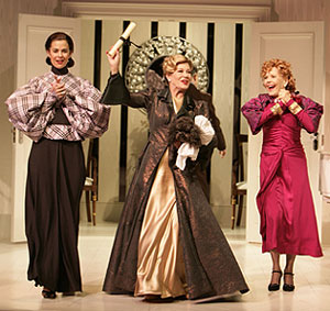 Nancy Bell, Annalee Jefferies, and Pamela Payton-Wrightin The Learned Ladies of Park Avenue