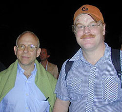 Bob Balaban and Philip Seymour Hoffman