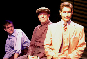Harris Doran, John Sloman, and Herndon Lackey