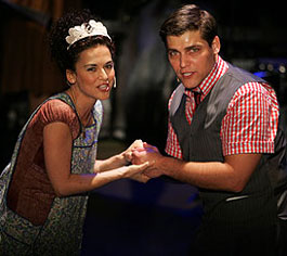 Sherrie Austin and Deven May in The Ballad of Bonnie & Clyde (Photo © Joan Marcus)