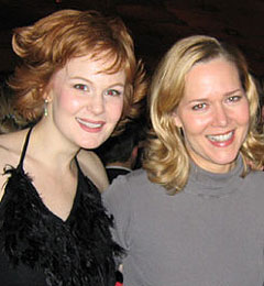 Kate Baldwin and Rebecca Luker