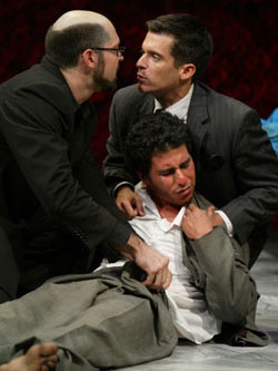 Bryant Mason, Javier Rivera, and Andres Munar