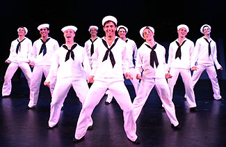 David Brouwer, David Elder, Jeffrey Schecterand company in On the Town