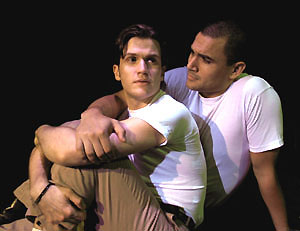 Doug Kreeger and Ivan Hernandez in Yank