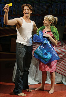 Andy Karl and Mary Faber in Slut (Photo © Carol Rosegg)