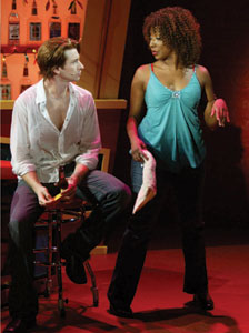 Andy Karl and Harriett D. Foy in Slut
