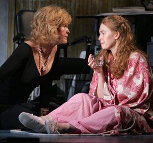 Deborah Rush and Mireille Enos in Absurd Person Singular