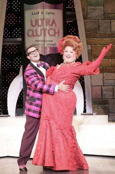 Jim J. Bullock and J.P. Dougherty in Hairspray(Photo © Chris Bennion)