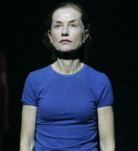 Isabelle Huppert in 4.48 Psychose