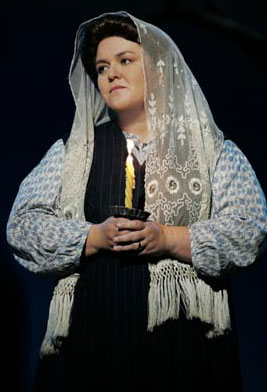 Rosie O'Donnell in Fiddler on the Roof (Photo © Carol Rosegg)