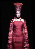 Sherie as Amneris in Aida