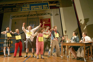 The cast of The 25th Annual Putnam Spelling Bee