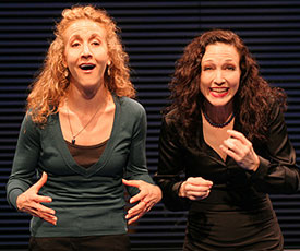 Jenn Harris and Bebe Neuwirth in Ashley Montana Goes Ashore in the Caicos