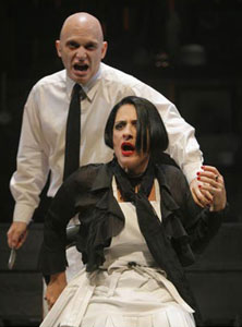 Michael Cerveris and Patti LuPone  in Sweeney Todd