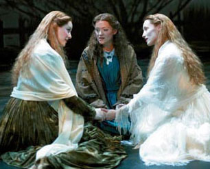 Jill Paice, Maria Friedman, and Angela Christian in The Woman in White (Photo © Manuel Harlan)