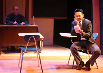 C.S. Lee and Joel de la Fuente in Cowboy v. Samurai