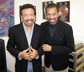 Maurice Whte and Maurice Hines