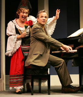 Judy Kaye and Donald Corren in Souvenir