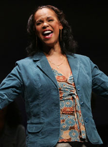 Terry Burrell in Almost Heaven(Photo © Joan Marcus)