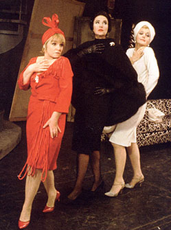 Jane Connell, Bea Arthur, and Angela Lansburyin the original Broadway production of Mame(Photo from Jerry Herman: The Lyrics)