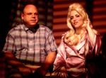 Claudia Shear withKevin Chamberlin in Dirty Blonde