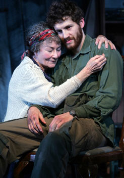 Rosemary Harris and Gene Farberin The Other Side