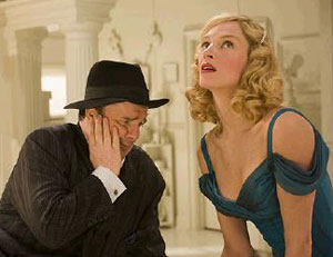 Nathan Lane and Uma Thurman in The Producers
