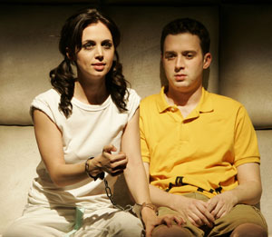 Eliza Dushku and Eddie Kaye Thomas in Dog Sees God