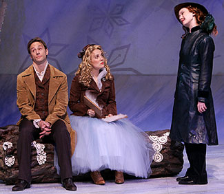 Kevin Isola, Rebecca Bellingham, and Victoria Mack