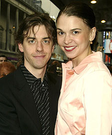Christian Borle and Sutton Foster(Photo © Joseph Marzullo)