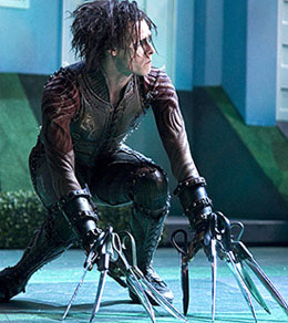 Sam Archer in Edward Scissorhands(Photo © Bill Cooper)