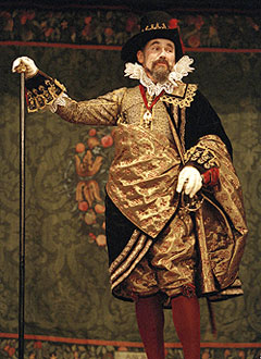 Mark Rylance in Measure for Measure