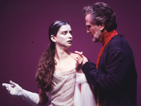 Mirjana Jokovic as Hermione andHenry Woronicz as Leontes