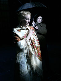 Jessica Burrows and Chris Hoch inlast year's workshop productionof Zhivago at La Jolla